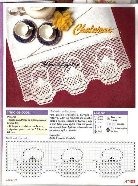 Delicadezas en crochet Gabriela: Para coleccionar : Puntillas ...