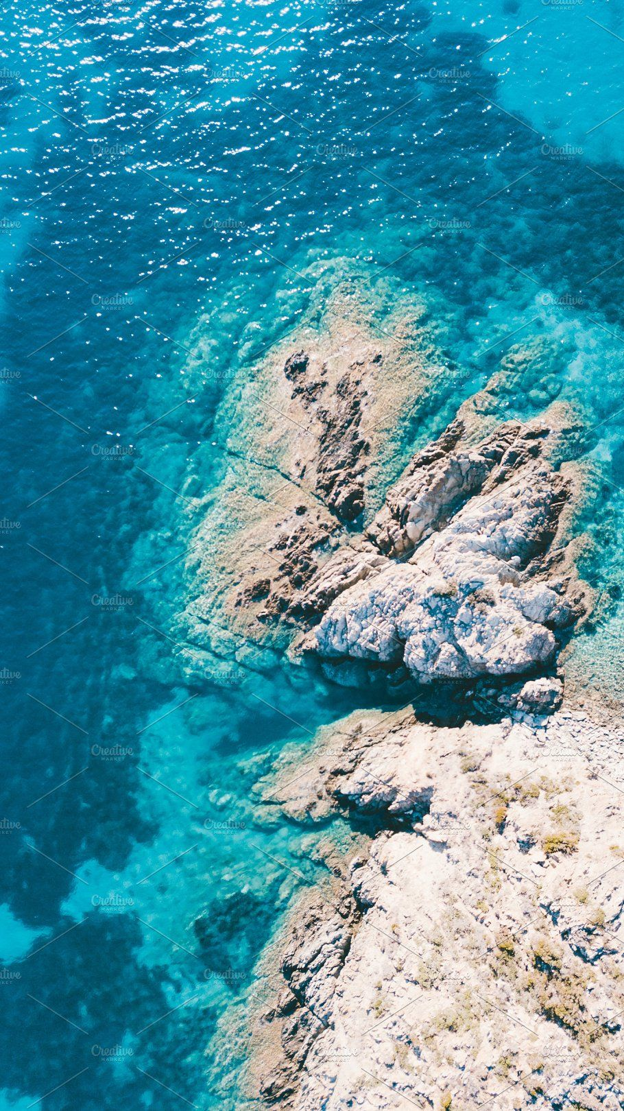 Aerial View Of The Amazing Sea Stock Photo Containing Mediterranean Sea And Scenery Wallpaper View Wallpaper Aerial View