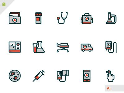 Free Hospital Icons Cartographie Icone Medicale Medical