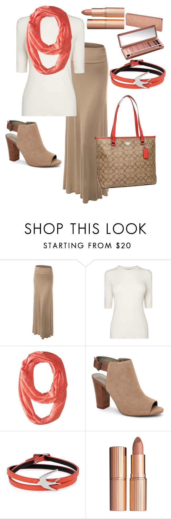 """""""fall-Coach 2016"""" by jolene-mcelraft on Polyvore featuring LE3NO, L.K.Bennett, Columbia, Tahari, McQ by Alexander McQueen, Charlotte Tilbury, Urban Decay and Coach"""