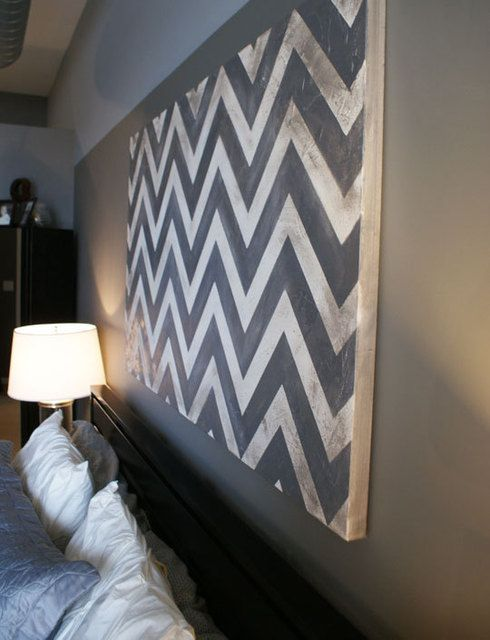 chevron for bedroom art