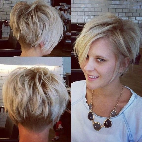 Short Hairstyles For Fine Hair Round Face 2017   Kayamakeup.co