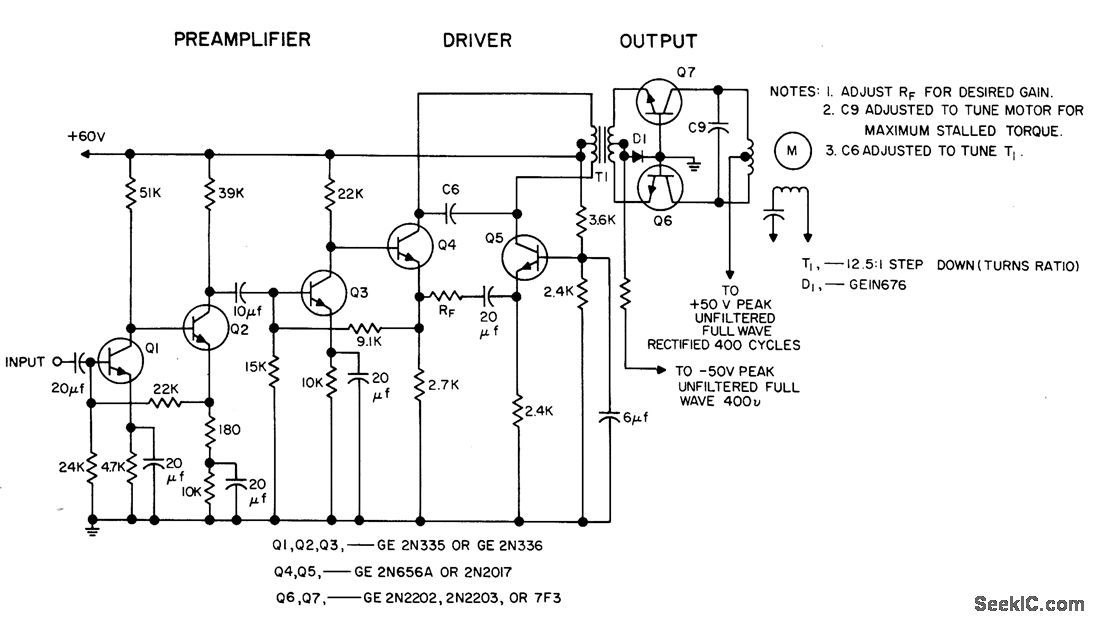 Ka2206 Amplifier Circuit Diagram