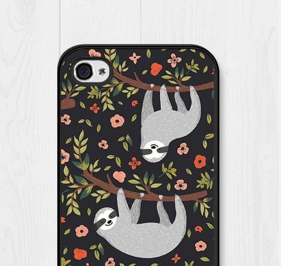 pretty nice 6f00f dfd57 Samsung Galaxy S7 Case Sloth iPhone SE Case iPhone 5 Case Sloth ...