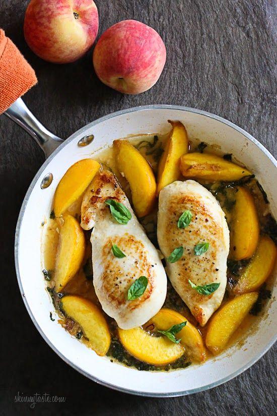 recipe: easy peach chicken recipe [17]
