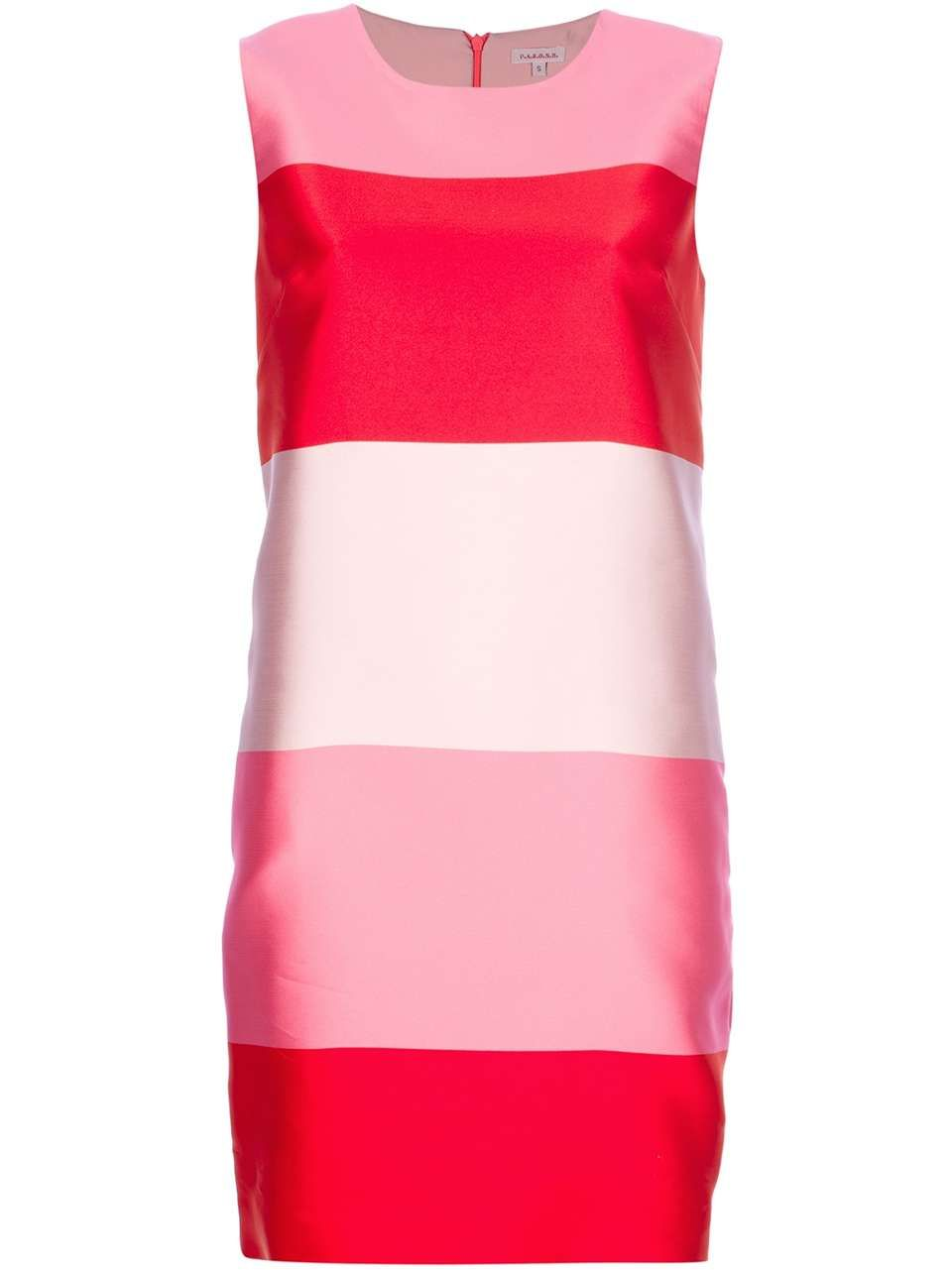 ❦ P.A.R.O.S.H striped shift dress | MODA | Pinterest