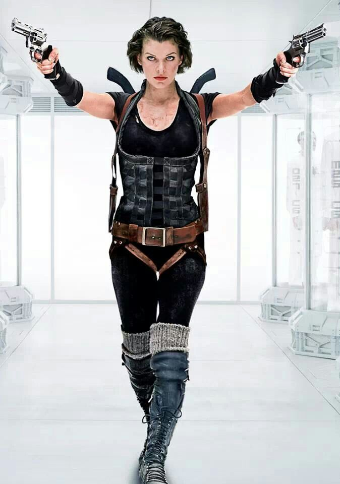 "Alice ""Milla Jovovich"" Resident Evil: Afterlife (2010) #ResidentEvil #WarriorWoman"