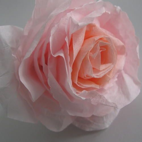 Faux mulberry paper roses coffee filter roses craft and paper roses faux mulberry paper roses mightylinksfo