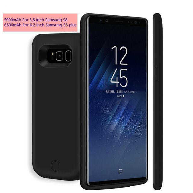 c64c287a867 OYIXINGER High Capacity Backup External Power Bank Battery Case For Samsung  Galaxy S8 S8 Plus Charger Case 2A Smart Fast Charge Review