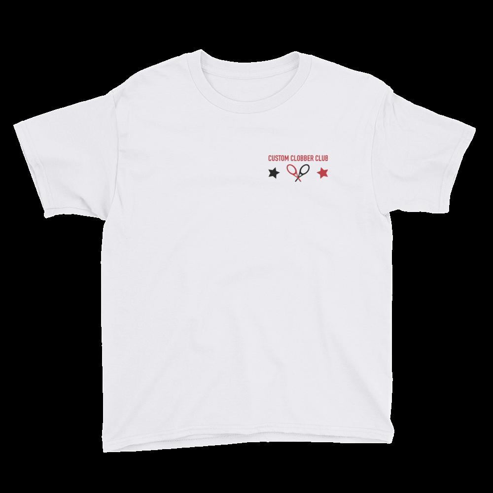 Custom Clobber Club Kids Tennis T-Shirt from Set 1