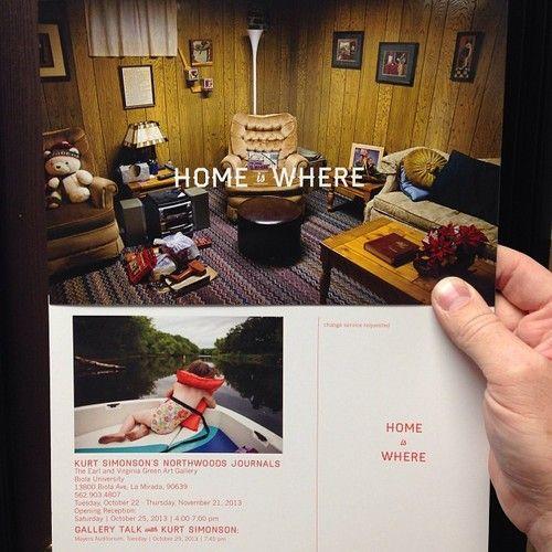 @Kurt Simonson photo opening Oct 22nd... Home is Where