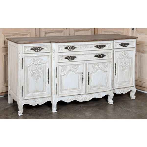 Antique Furniture | Antique Buffets-Sideboards | Antique Country French  Buffets | Painted Country French - Antique Furniture Antique Buffets-Sideboards Antique Country