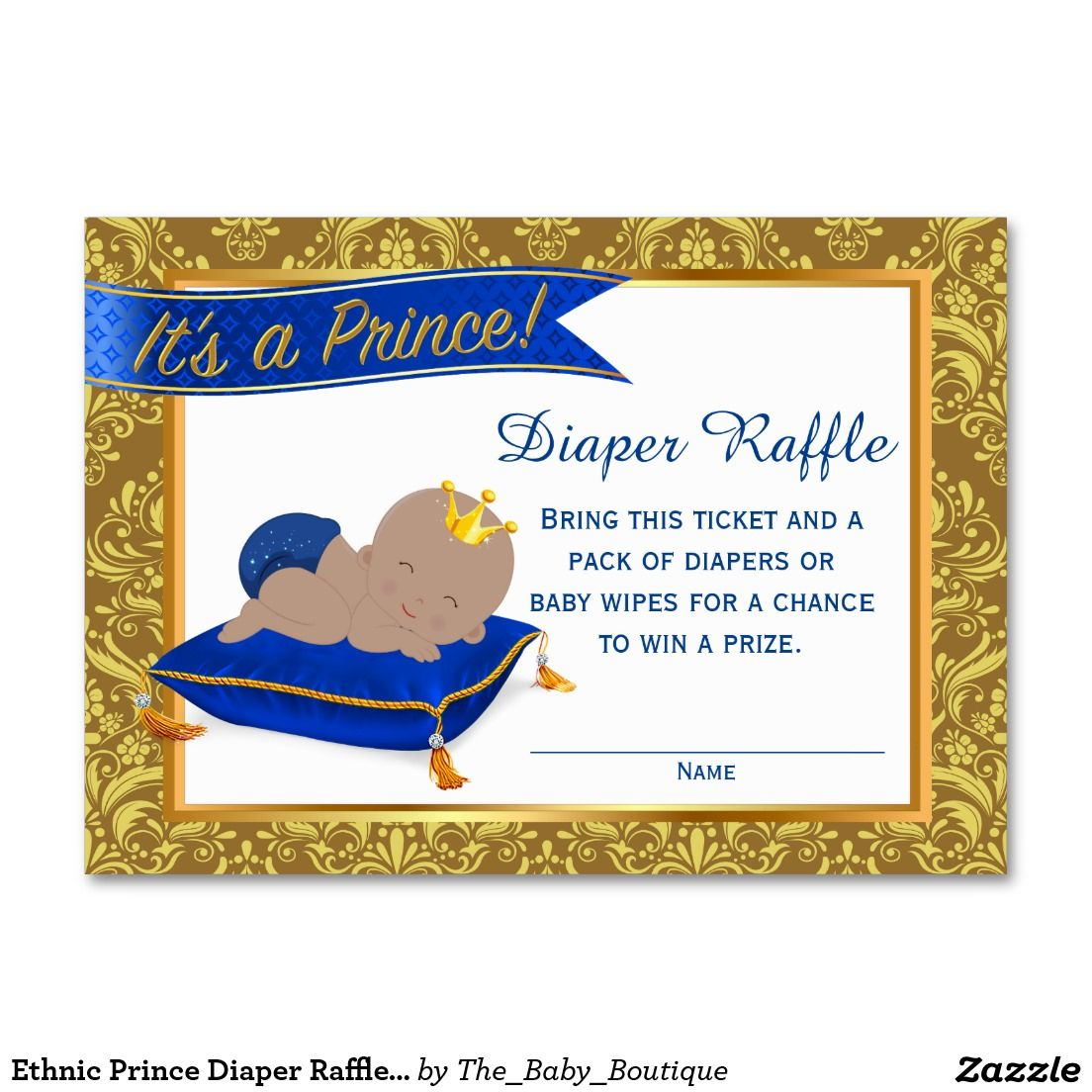 Ethnic prince diaper raffle cards diaper raffle large business ethnic prince diaper raffle cards diaper raffle large business card magicingreecefo Choice Image