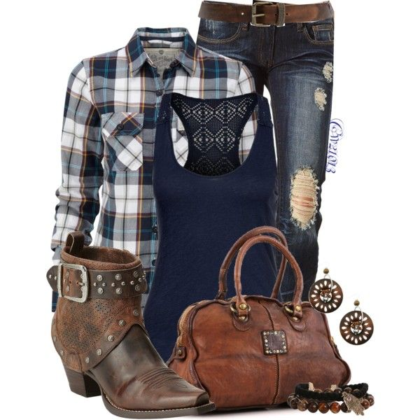 Untitled #1153 by cw21013 on Polyvore featuring polyvore, fashion, style, Superdry, Roxy, Charlotte Russe, Ariat and Campomaggi