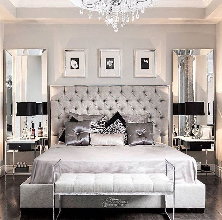Gray Master Bedroom Design Ideas Banksy Bedroom Wall Art Bedroom Wallpaper For Teenagers Bedroom Goals Tumblr: Ultra Luxe Bedroom. Home Decor Inspiration Home Decor