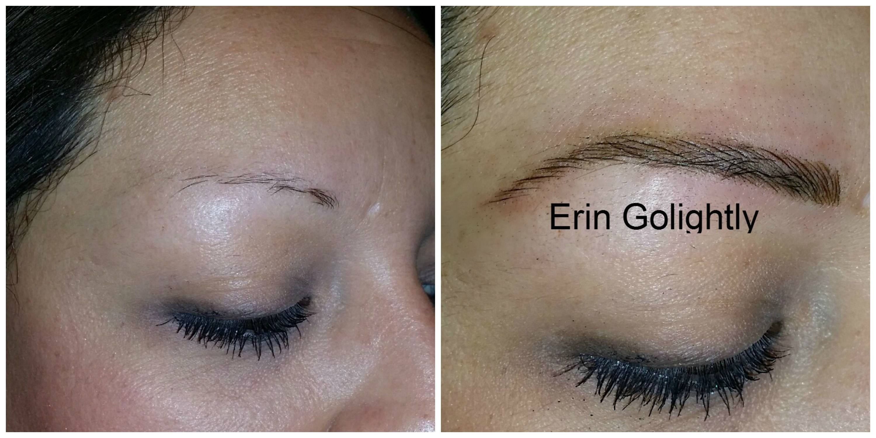 From barely there eyebrows to natural looking hairstrokes