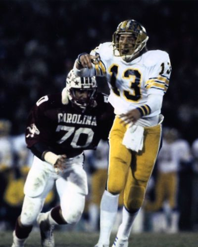dan marino pitt panthers loved these uniforms or maybe