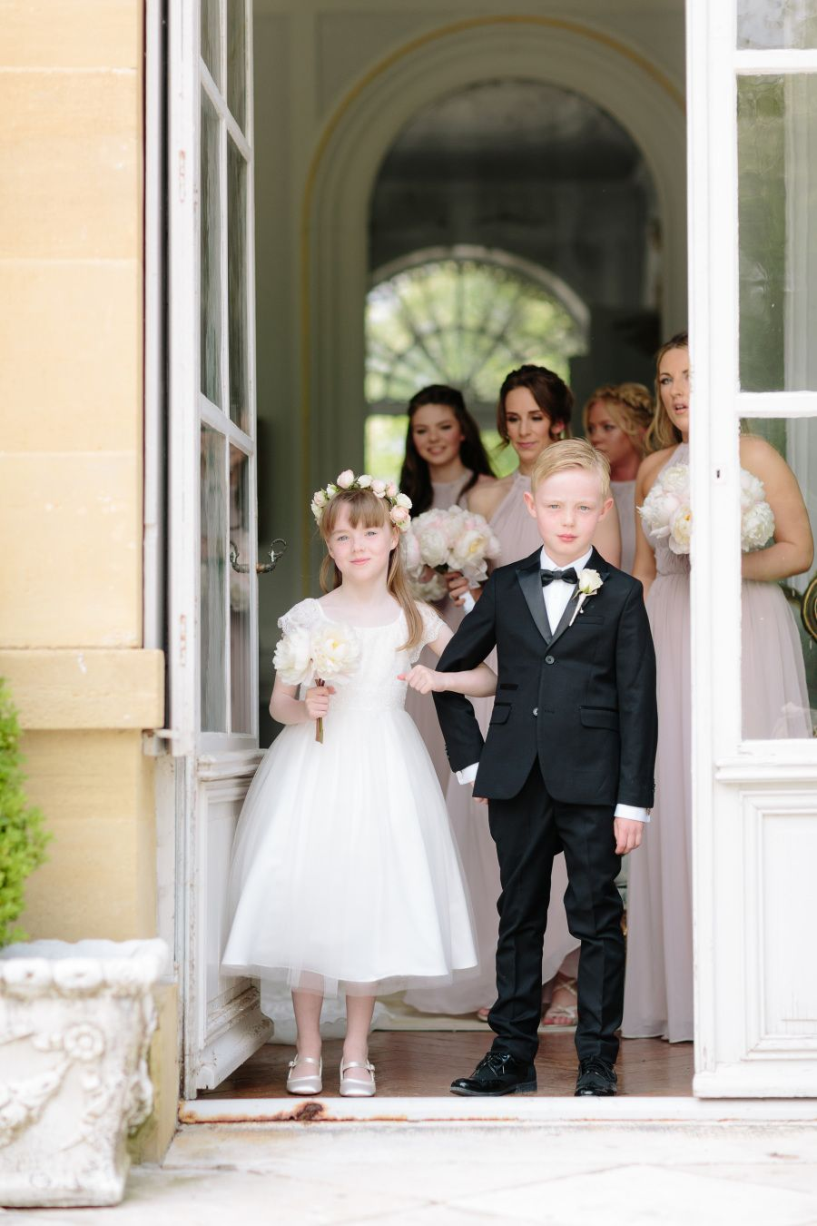 Groom's Attire: Christian Louboutin - http://us.christianlouboutin.com/us_en/ Wedding Dress: Inbal Dror - http://www.stylemepretty.com/portfolio/inbal-dror-3 Photography: French Grey Photography - frenchgreyphotography.com   Read More on SMP: http://www.stylemepretty.com/destination-weddings/france-weddings/2016/08/29/glamorous-spring-wedding-at-french-chateau/