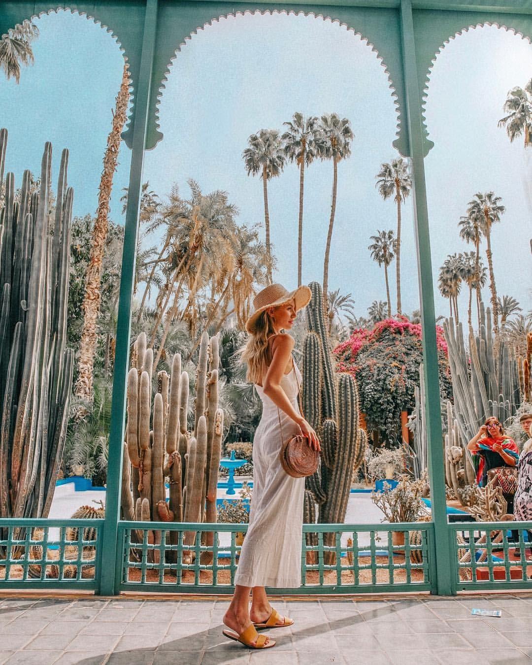 Le Jardin Majorelle Marrakech Alohassandals Alohasandals