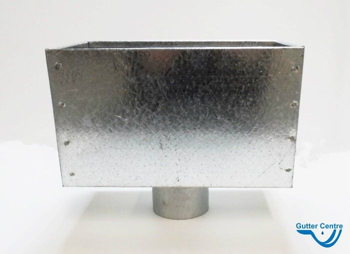 Saint Gobain Pam Uk Timesaver Cast Iron Soil Blank End Drilled Tapped Gt71t Galvanized Steel Cast Iron Galvanized
