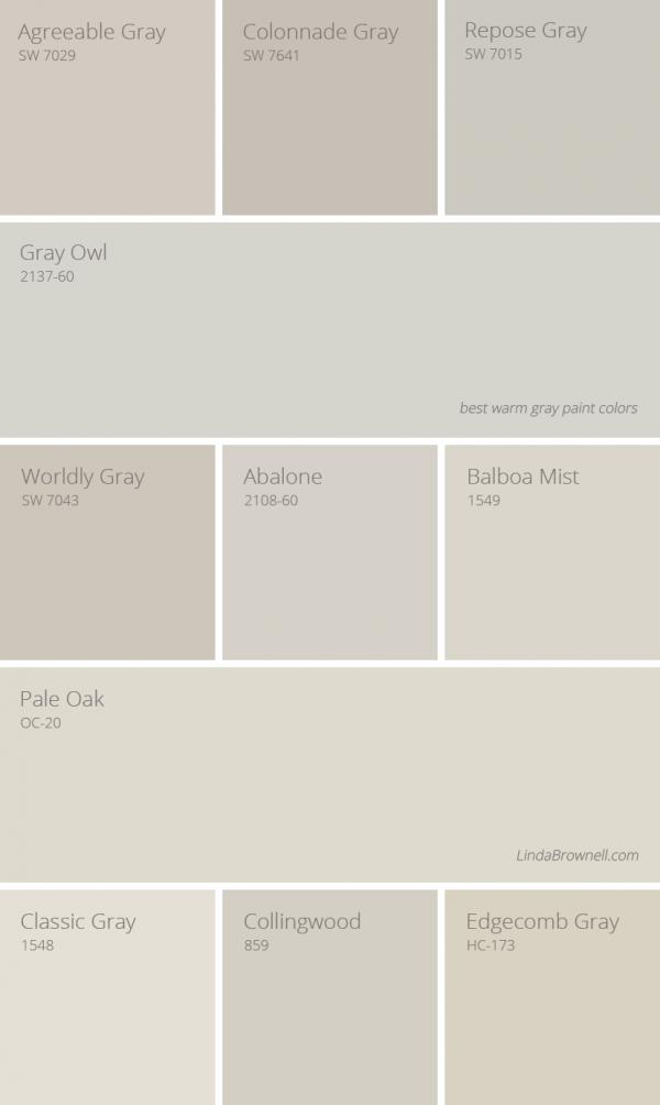 11 Greatest Best Warm Gray Paint Colors Warm Grey Paint Colors Grey Paint Colors Warm Gray Paint