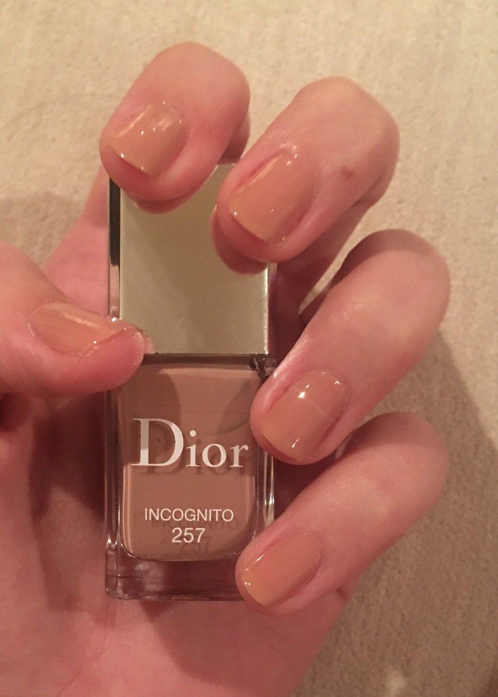 Dior Vernis Gel Lacquer 257 Incognito Nail Polish Polish