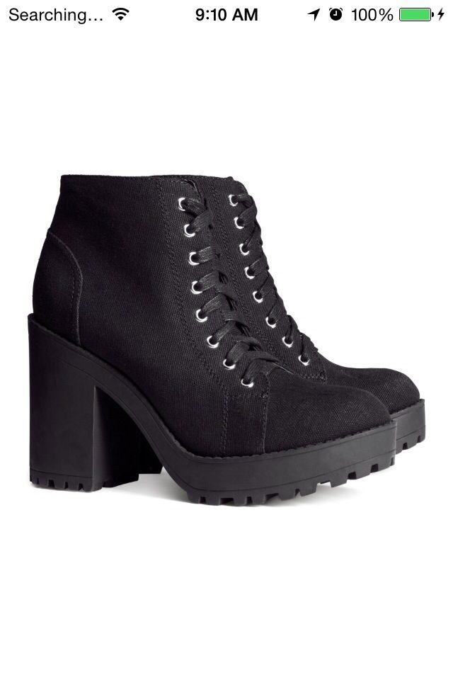 Combat boots #combatboots #heels #boots