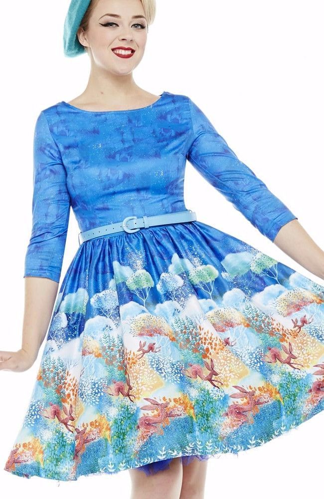 7f5fd8e25160 Lindy Bop Holly Hare Swing Dress   lindy bop   Swing dress, Dresses ...
