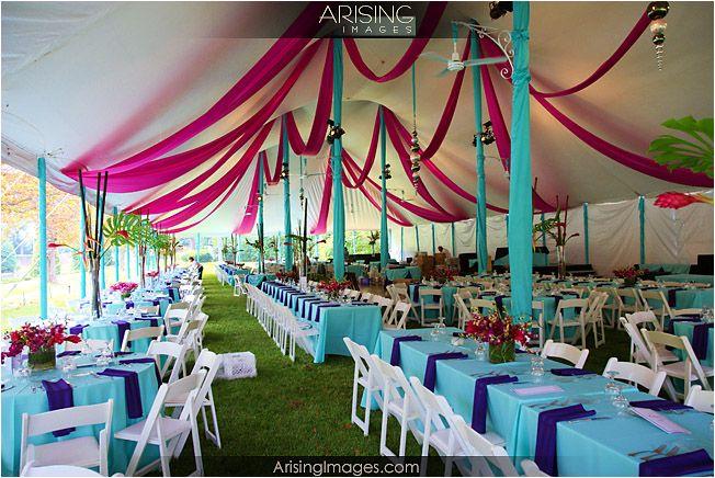 Wonderbaar zelf feestzaal versieren | Bruiloft tent decoraties, Feesttent AH-61