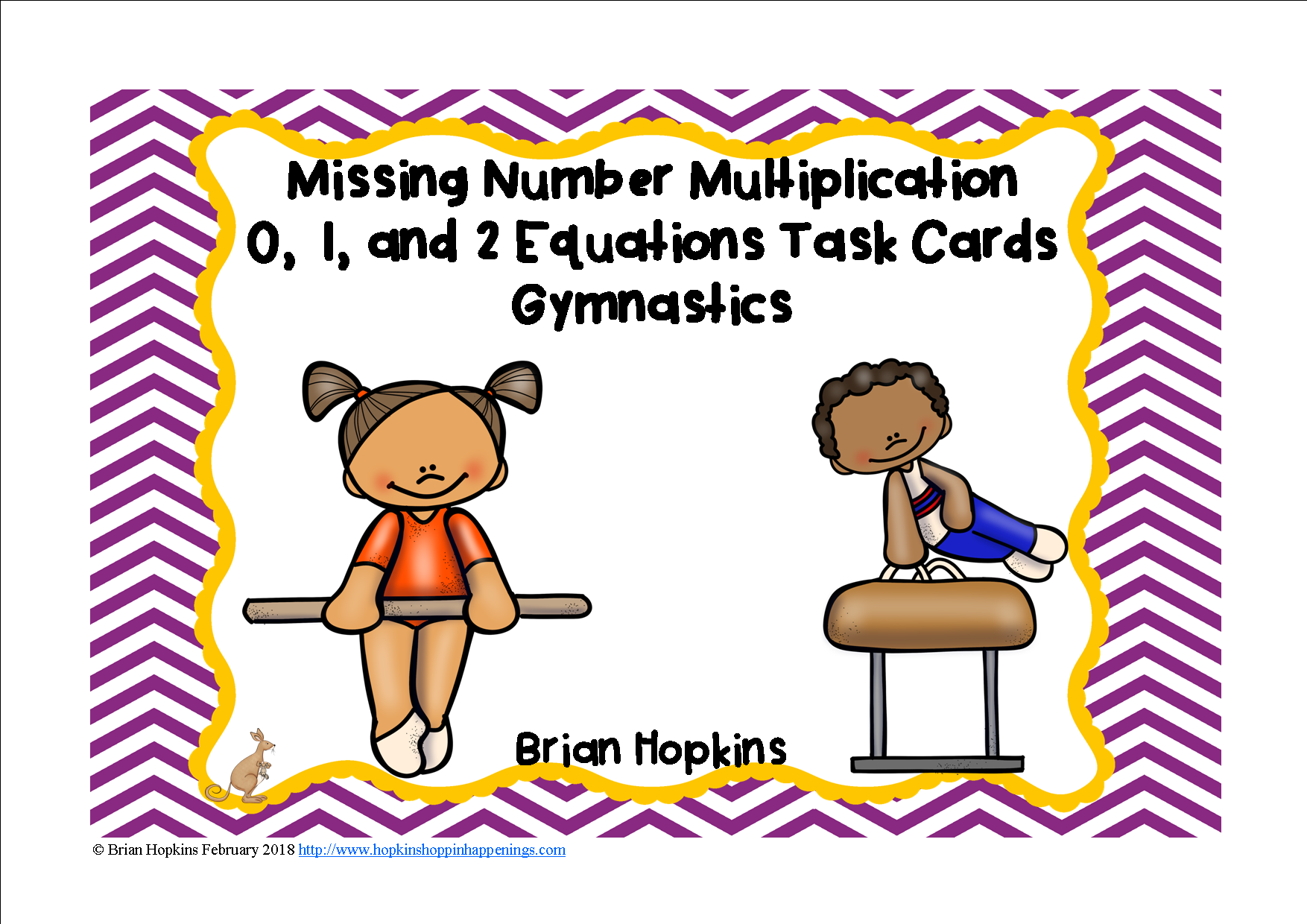 gymnastics multiplication missing number equations | dry erase