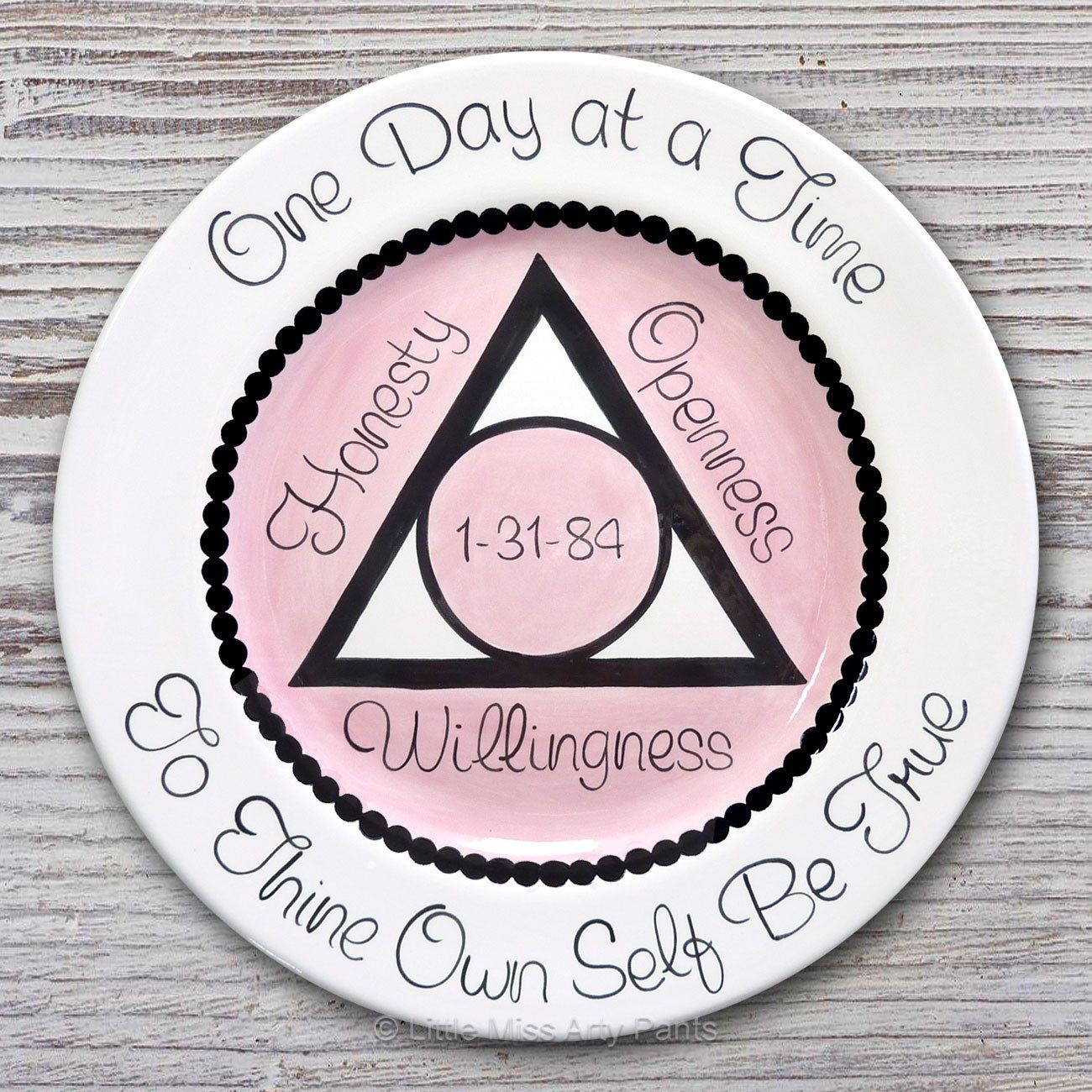 Aa Alcoholics Anonymous Personalized Aa Birthday Recovery