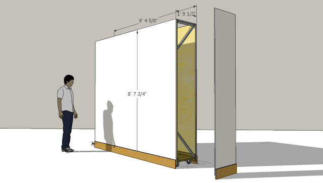 Partition Wall For An Art Gallery Movable Walls Wall Partition Design Movable Partition