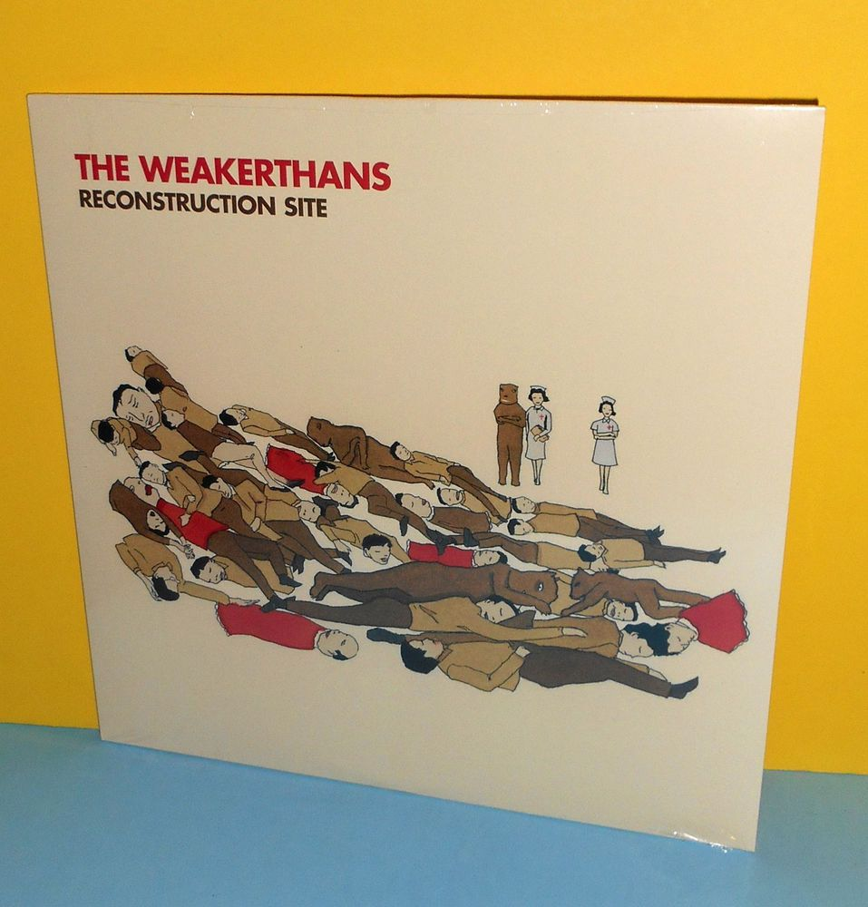 The Weakerthans Reconstruction Site Lp Vinyl Record Sealed