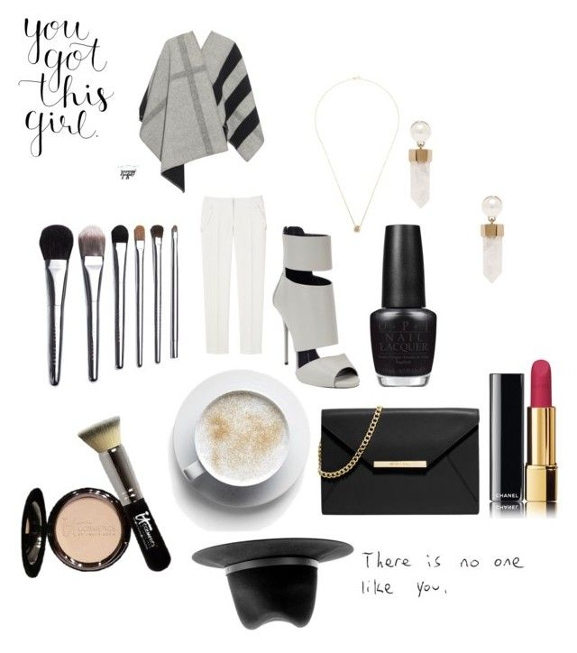 """""""Sem título #482"""" by imaginarium ❤ liked on Polyvore featuring MICHAEL Michael Kors, Giuseppe Zanotti, rag & bone, Burberry, Bobbi Brown Cosmetics, Shylee Rose, OPI, It Cosmetics, Givenchy and Chanel"""