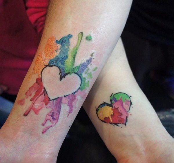 23 Tatuajes Para Parejas Originales Y Hermosos Tatuajes