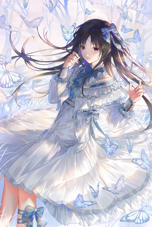 Pinterest Anime butterfly, Anime, Anime art