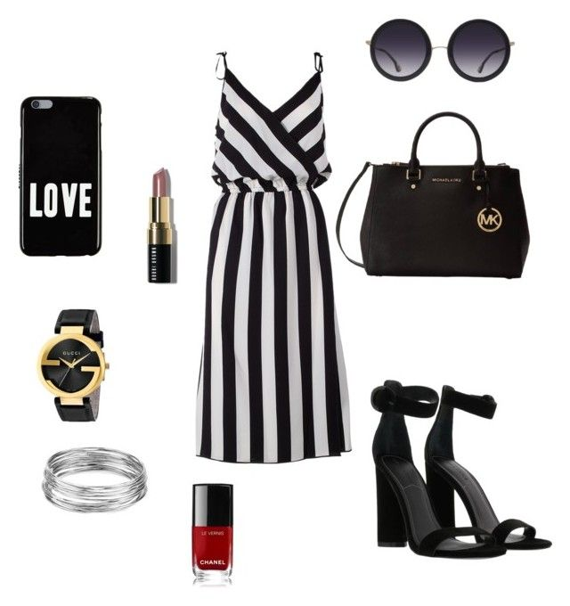 """Sem título #29"" by vicribeiro on Polyvore featuring moda, Marc Jacobs, Kendall + Kylie, Michael Kors, Alice + Olivia, Givenchy, Gucci, Aqua, Bobbi Brown Cosmetics e Chanel"