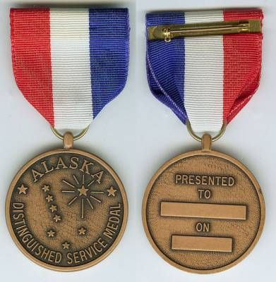 The OMSA Medal Database - Distinguished Service Medal - Alaska National Guard - OMSA