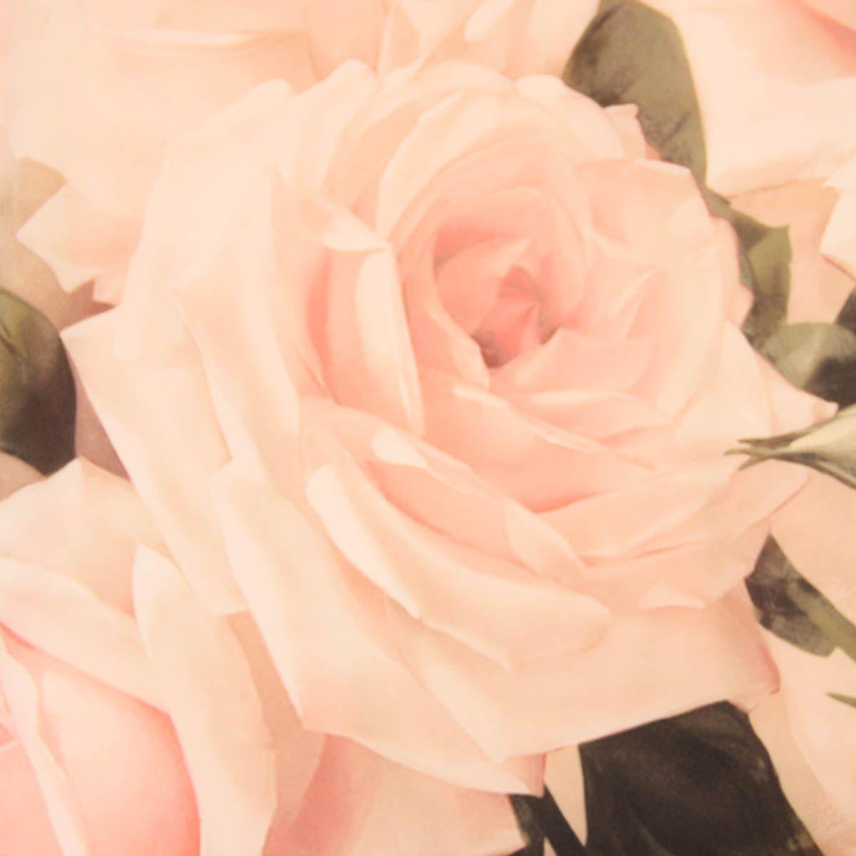 Monnalisa chic girls pink silk rose print dress fashion kids