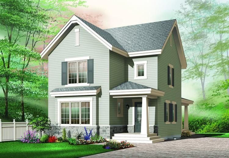 House Plan 034-00467 - Country Plan 1,712 Square Feet, 3 Bedrooms