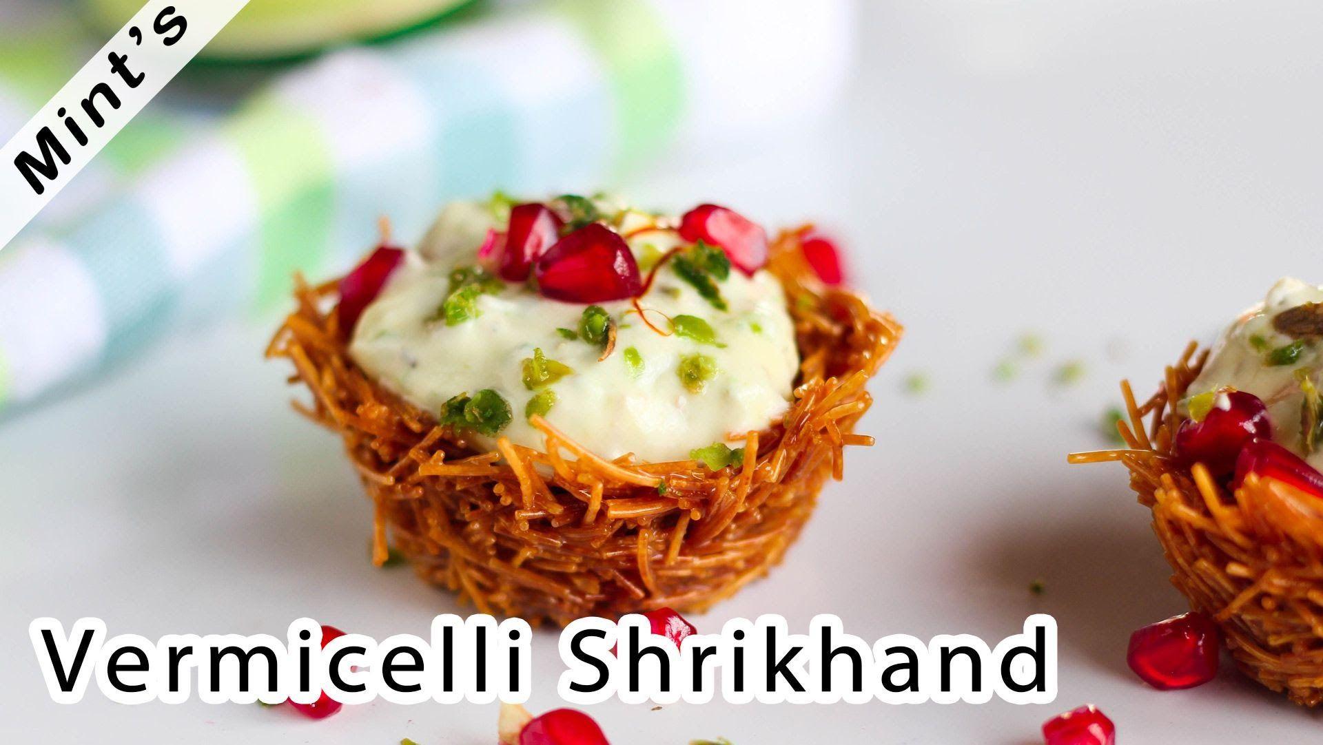 Vermicelli shrikhand recipe indian dessert recipes recipe in vermicelli shrikhand recipe indian dessert recipes recipe in hindi forumfinder Images