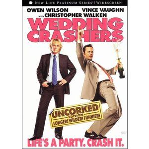 Wedding Crashers Uncorked Edition Unrated Widescreen Walmart Com In 2021 Wedding Crashers Owen Wilson Wedding Movies