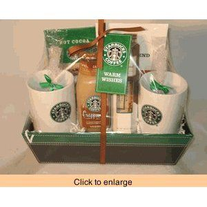 Starbucks Gift Basket Starbucks Gift Baskets Coffee Gifts
