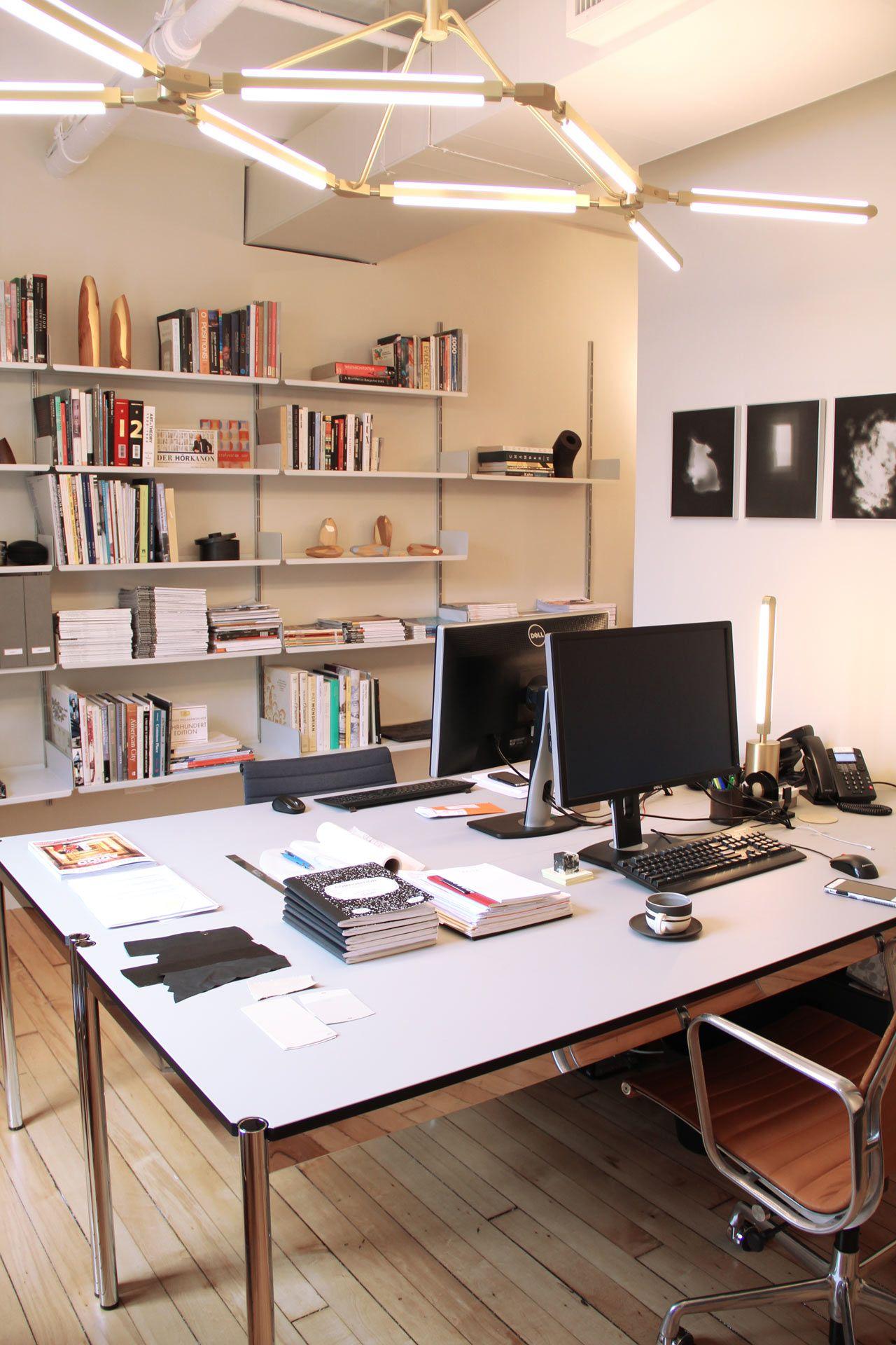 The Manhattan offices of design brand PELLE