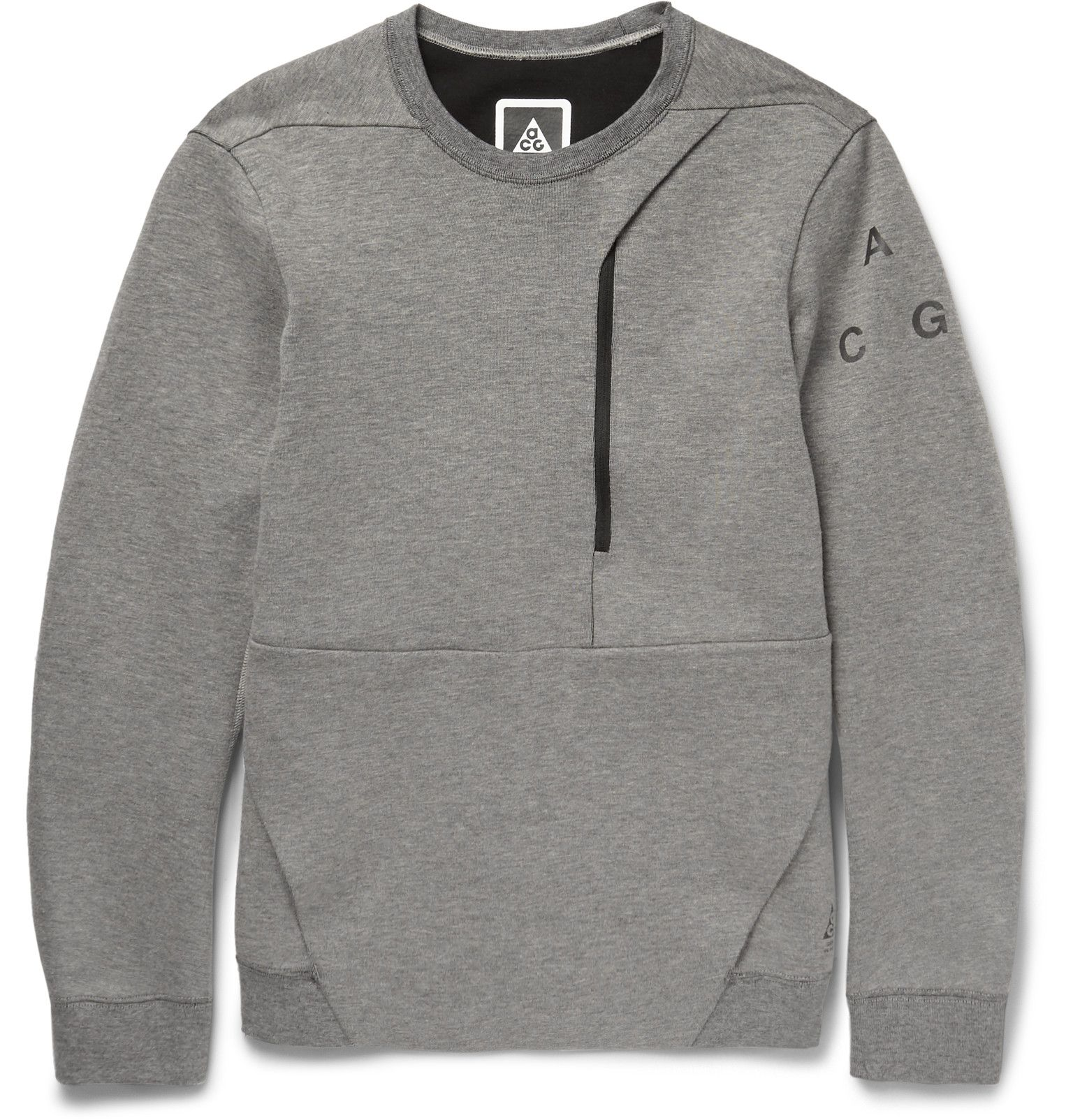 2d119e4db18b Nike - ACG Cotton-Blend Tech Fleece Sweatshirt