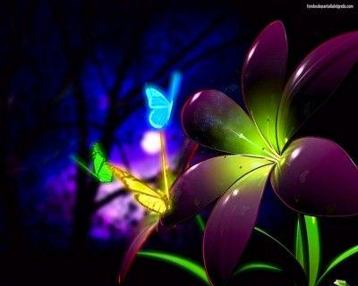 Descarga Estas Imagenes Para Fondo De Pantalla Para Laptop Butterfly Wallpaper Neon Wallpaper 3d Animation Wallpaper
