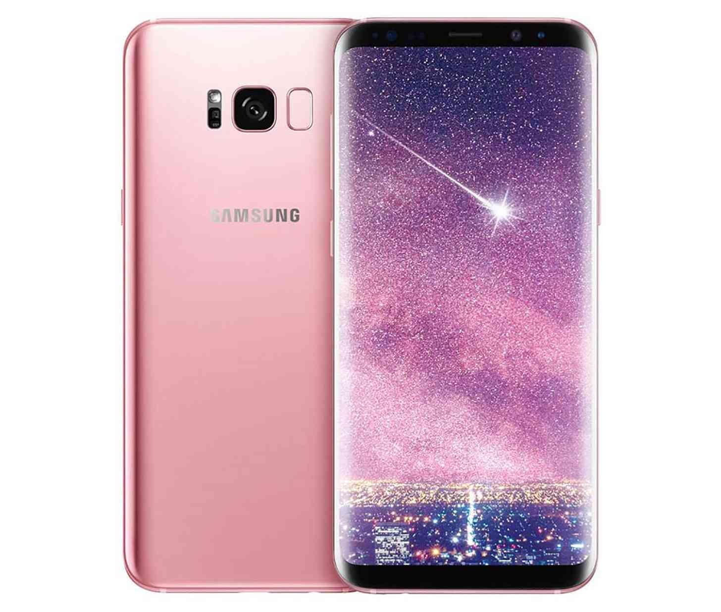 Samsung Galaxy S8 Gets New Rose Gold Color Option Telefonos