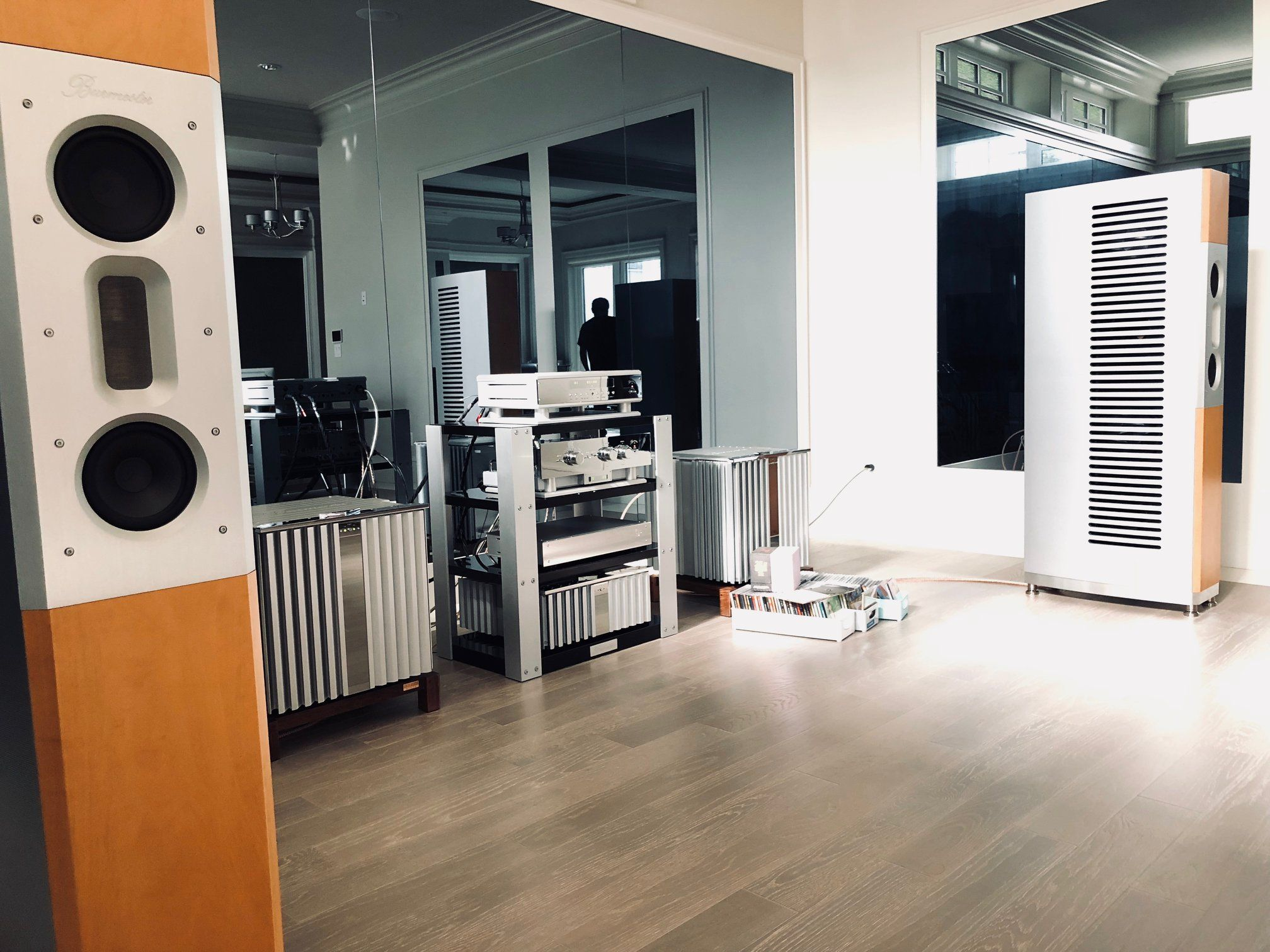 Burmester Reference Line Setup At A Customer S Home In The Usa Thanks To Our Dealer Element Acoustics From Richmond Virginia System Consists Of 069