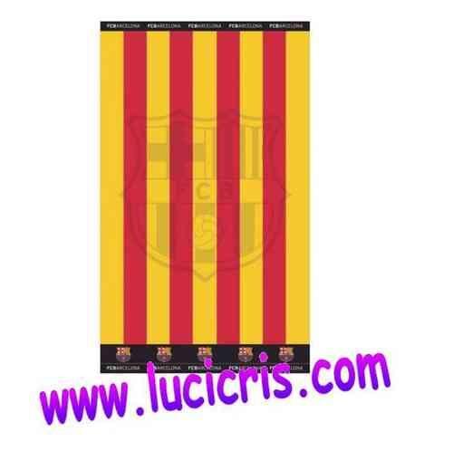 Toalla FC BARCELONA Senyera Jacquard 90x170cm