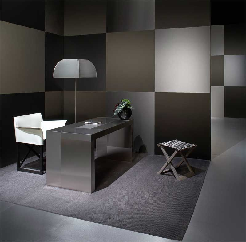 Study Room Color Ideas: Fun Wall Paint Idea But In Shades Of Blue Not Black
